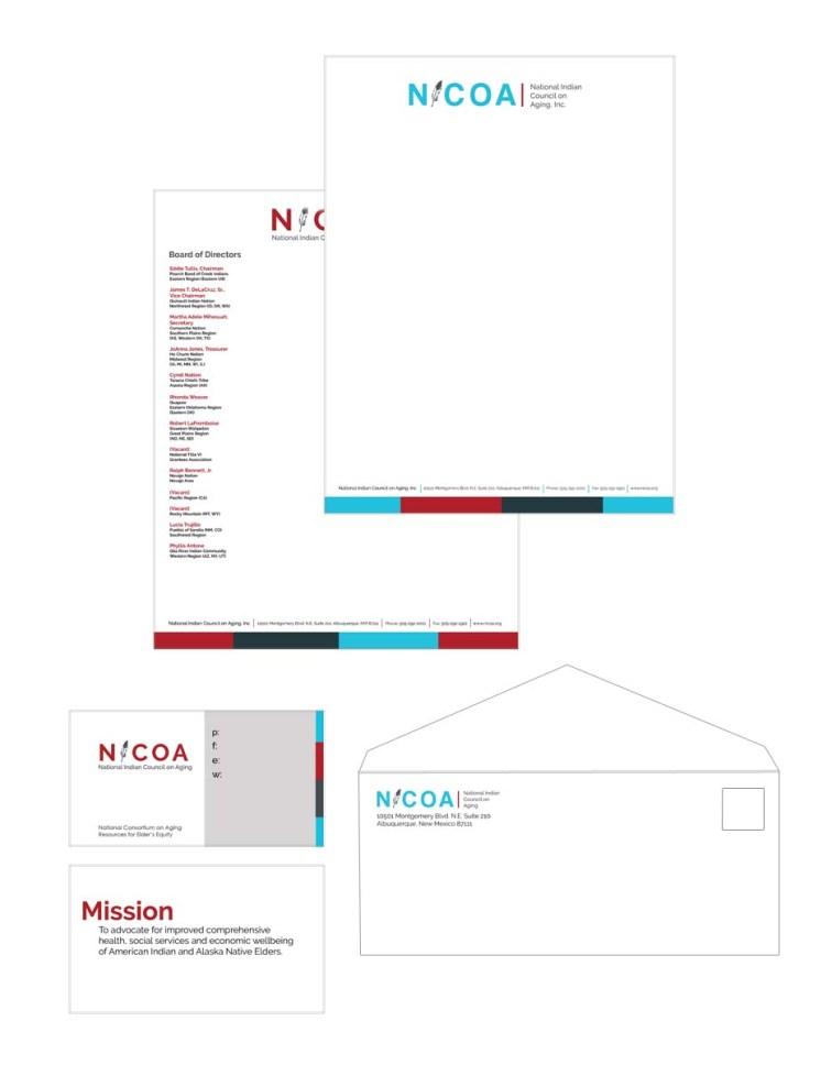 NICOA stationary set